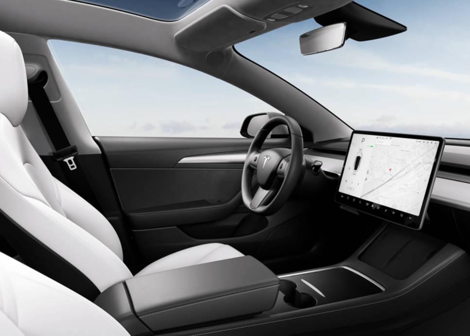 Tesla Model 3 Innenansicht